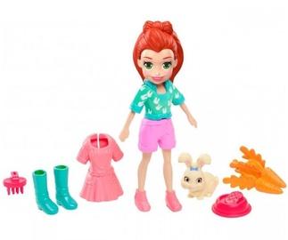 Žaislinė figūrėlė Mattel Polly Pocket Hoptastic Lila With Pet GDM11
