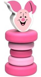 Погремушка Disney Piglet, розовый