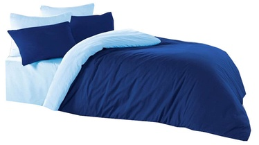 Bradley Duvet Cover Dark Blue/Light Blue 150x210cm