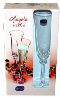 Pokaal Bohemia Angela Glass Set 2pcs 19cl