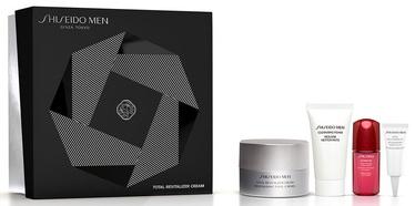 Shiseido Men Total Cream 50ml + 30ml Cleansing Foam + 10ml Concentrate + 3ml Eye Cream