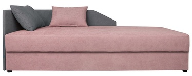 Sofa-lova Black Red White Kelo Pink/Grey, 204 x 95 x 80 cm