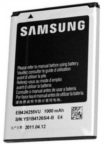 Samsung EB424255VU Battery For S3350/C5530 1000mAh Bulk