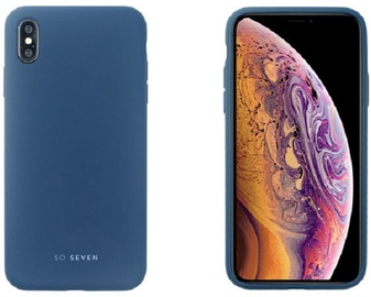 So Soven Smoothie Back Case For Apple iPhone XS Max Blue