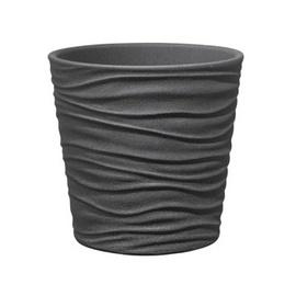 Verners Sonora Flower Pot Grey 19cm