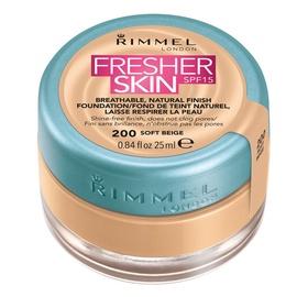 Rimmel London Fresher Skin Foundation SPF15 25ml 200