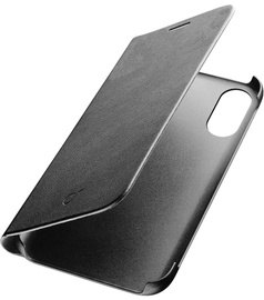 Cellular Line Essential Book Case For Apple iPhone X Black
