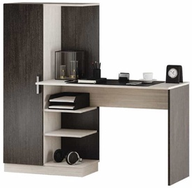 MN Beisik Desk Wenge/Light Oak