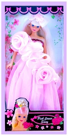 Susy Pink Flower Doll 1032