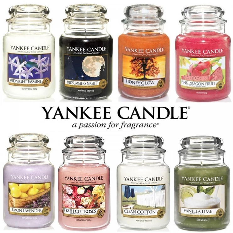 Yankee Candle Classic Large Jar Garden By Sea 623g