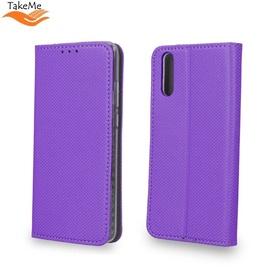 TakeMe Smart Magnetic Fix Book Case Xiaomi Redmi 7 Violet