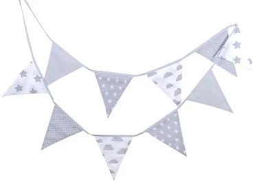 Набор для декорирования Lulando Garland For Children Grey 3.25m