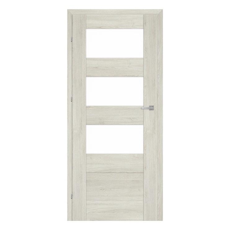 Полотно межкомнатной двери Classen Door Alvaro M3 Grey Oak Left 2035x844mm
