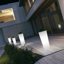 Plastikinis LED vazonas Schio Cono 033, Ø45 cm