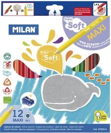Milan Maxi Super Soft Colour Pencils 0792612