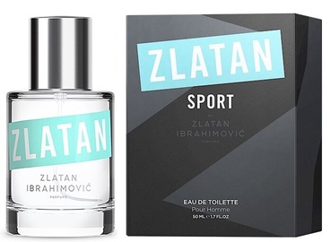 Tualetes ūdens Zlatan Ibrahimovic Sport EDT, 50 ml