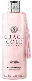 Grace Cole Relaxing Bath Soak 500ml Wild Fig & Pink Cedar