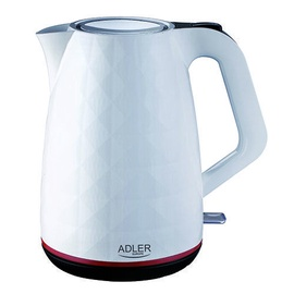 Электрический чайник Adler AD1227 WHITE