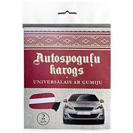Karogs Latvijas autospoguļu 2gab