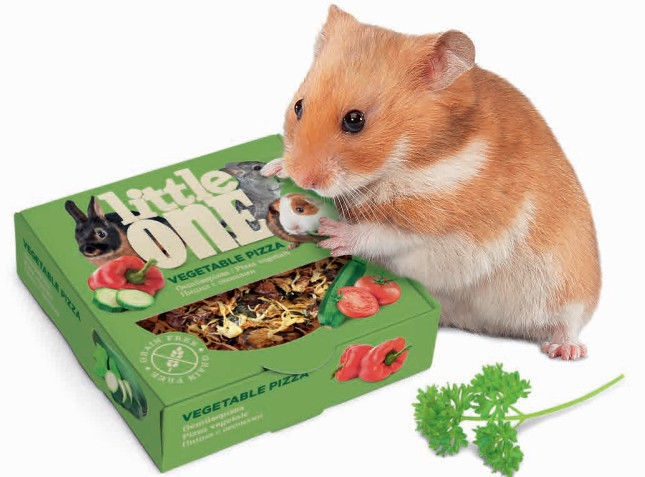 Mealberry Little One Treat Toy Vegetable Pizza 55g