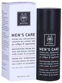 Näokreem Apivita Mens Care Moisturizing Cream Gel, 50 ml