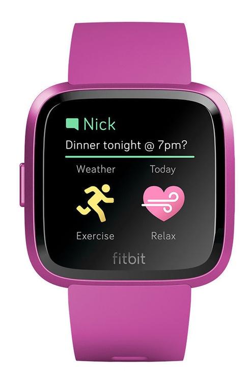 Fitbit Versa Lite Edition Mulberry
