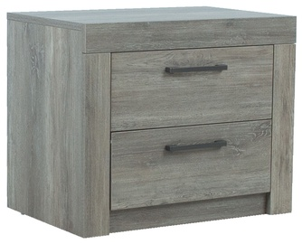 Home4you Flow Night Stand Grey Oak