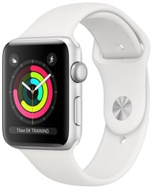Умные часы Apple Watch Series 3 42mm GPS Aluminium Silver/White Band