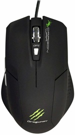 Dragon War Dragunov Ergonomic Bluetrack Gaming Mouse Wired incl. Mouse Pad Black