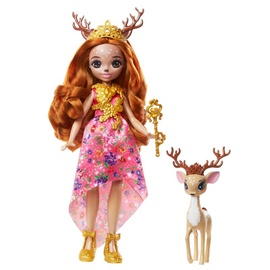 Кукла Mattel Royal Enchantimals Queen Daviana + Deer Grassy