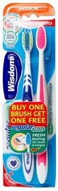 Wisdom Regular Fresh Toothbrush Twin Pack