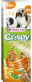 Versele-Laga Crispy Sticks Rabbits-Guinea Pigs Carrot & Parsley 110g