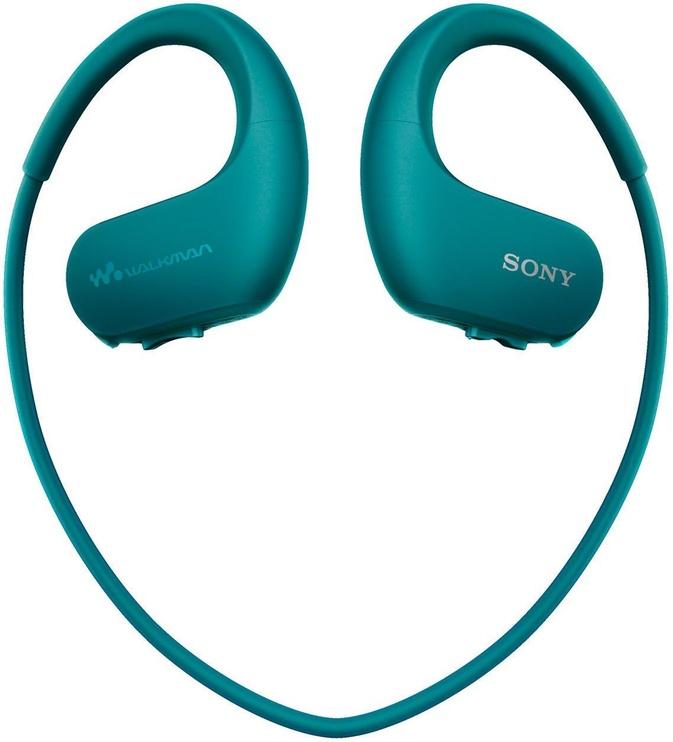 Музыкальный проигрыватель Sony Walkman NW-WS413, синий, 4 ГБ
