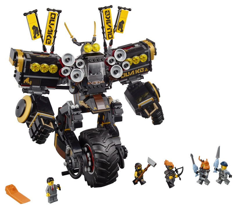 Конструктор LEGO Ninjago Quake Mech 70632 70632, 1202 шт.
