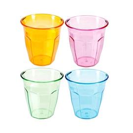 Plastikiniai puodeliai 120211, 12 vnt., 280 ml