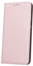 Mocco Smart Carbon Book Case For Apple iPhone X Pink