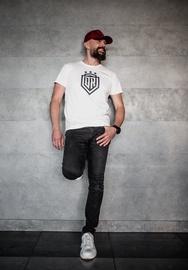 Dinamo Rīga Men T-Shirt White/Black XS