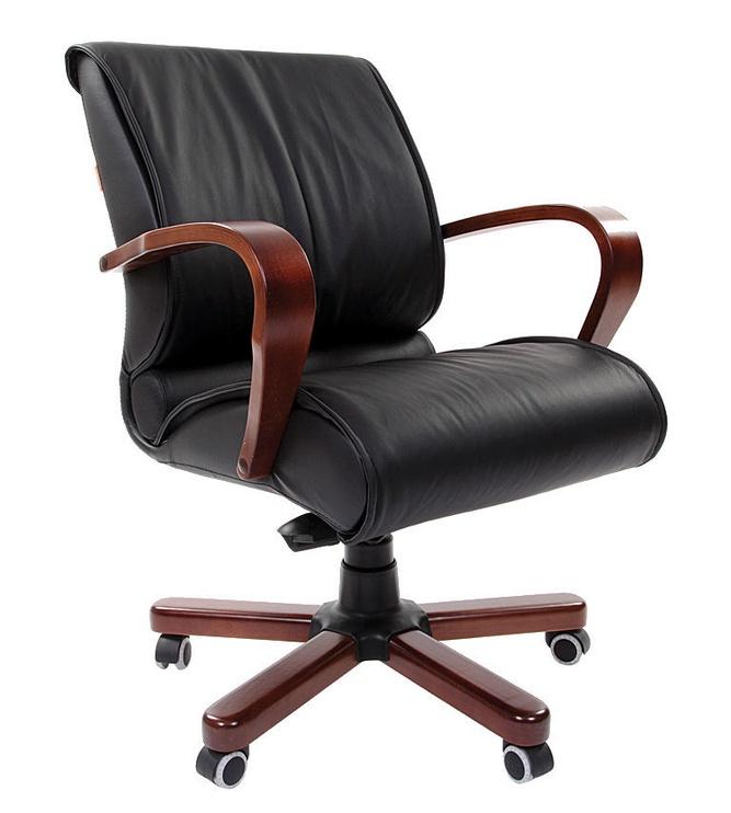 Biroja krēsls Chairman 444 WD Wood Black