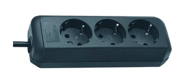 Pikendusjuhe Brennenstuhl Power Cord Eco 3x 1.5m Black