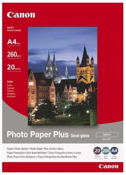 Canon SG-201 Plus A4 Semi-Glossy 20