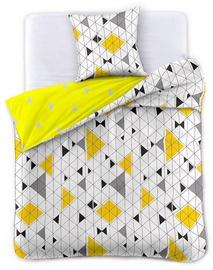 Комплект постельного белья DecoKing Geometric, 155x220/80x80 cm