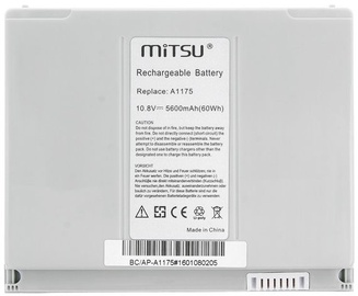 "Mitsu Battery For Apple MacBook Pro 15.4"" 5600mAh"