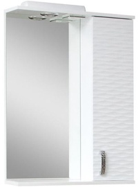 Sanservis 3D-65 Cabinet with Mirror White 65x86.5x17cm