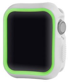 Devia Dazzle Series Protective Case For Apple Watch 40mm Silver/Yellow