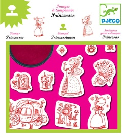 Djeco Princess Stamps DJ08810