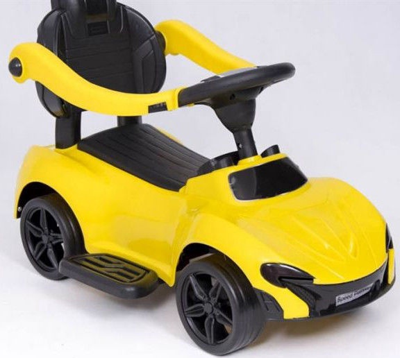 As Company Ride-On Car Speed Passion 811-2 Yellow