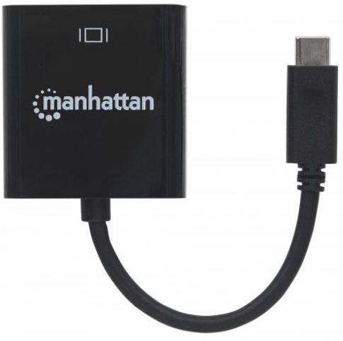 Manhattan Adapter Converter USB / HDMI Black