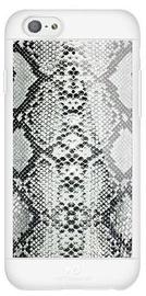White Diamonds Safari Snake Case With Swarovski Crystals For Apple iPhone 6/6s Grey