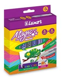 Luxor Magic Marker 6 + 2pcs 6104