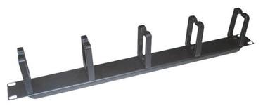 LogiLink Cable Organizer 19'' 1U Black